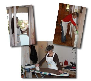 Ménage, repassage : votre aide ménagère avec Hera Dom